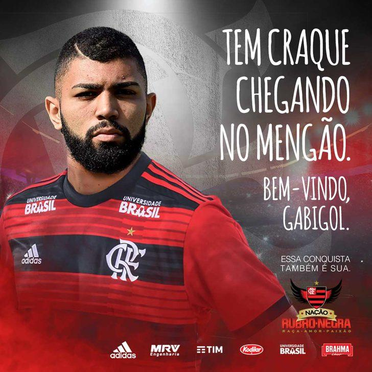 Gabriel Barbosa - Inter > Flamengo (Kiralık)