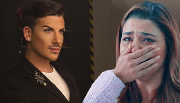 Kerimcan Durmaz annesini kaybeden Hande Erçel'e destek oldu