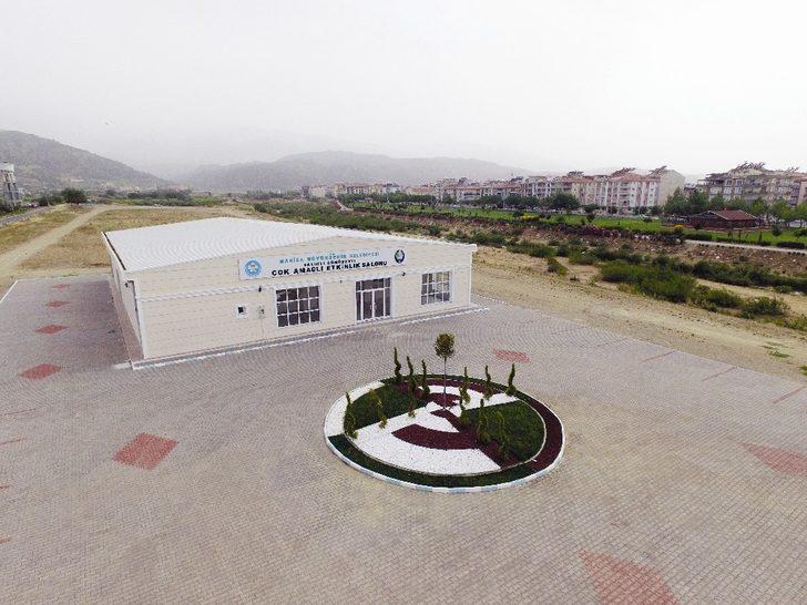 Manisa'ya 19 adet çok amaçlı etkinlik salonu kazandırıldı