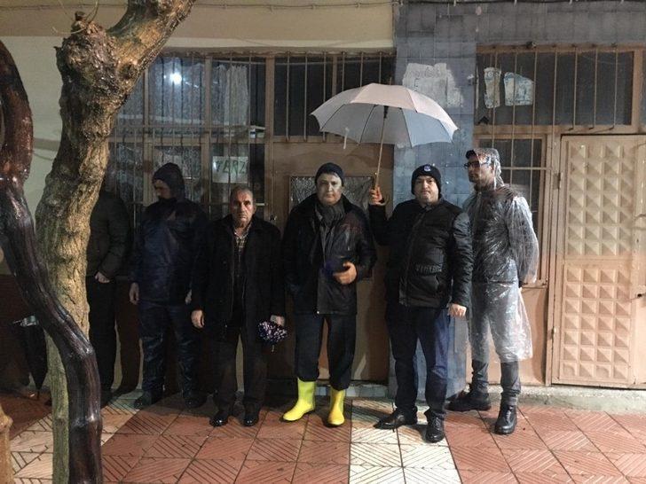 Başkan Çerçi sel ekiplerini bizzat yönetti