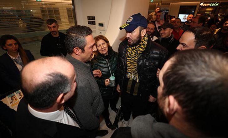 Ali Koç'tan Fenerbahçeli taraftara ziyaret