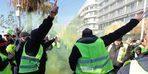 Fransa'da 9. Sarı Yelekliler Eylemi Yine Şiddetle Bitti