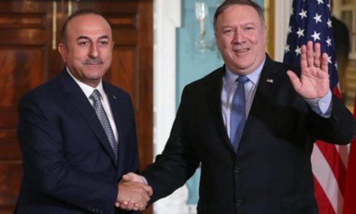 Bakan Çavuşoğlu, ABD'li mevkidaşı Pompeo ile telefonda görüştü