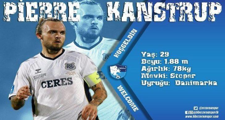 Pierre Kanstrup - Aarhus > Erzurumspor | BONSERVİS BEDELİ: Bilinmiyor