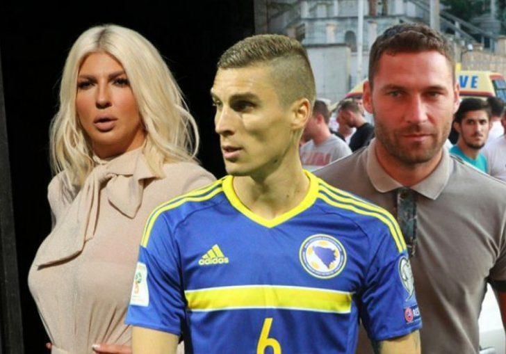 Jelena, Ognjen Vranjes'in Tosic ile boşanması için bu tarz gerçek olmayan fotoğrafları internete sızdırdığını söyledi.