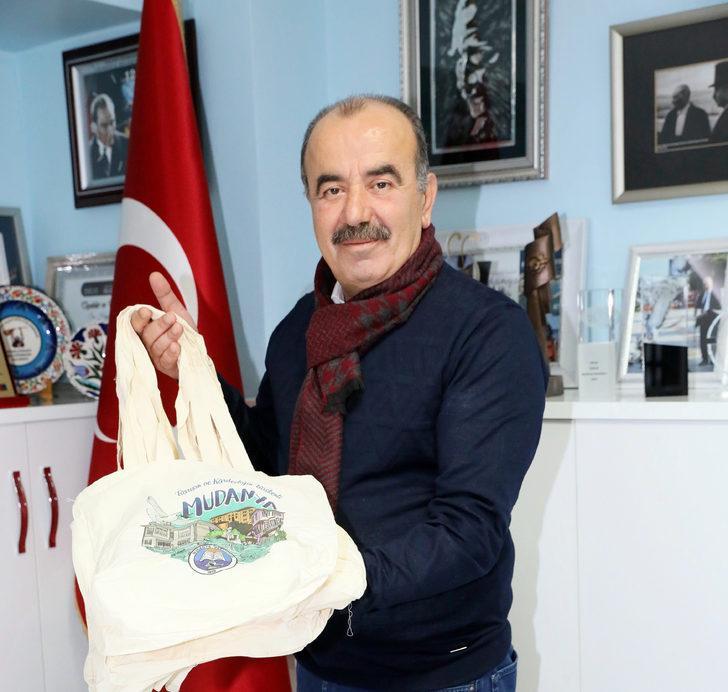 b36a68de73e6a Mudanya'da 5 pet şişe getirene bez çanta hediye - Son Dakika Haberler