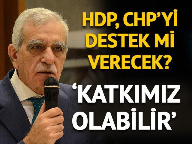 HDP, CHP ile ittifak yapacak mı? Ahmet Türk'ten çarpıcı açıklama