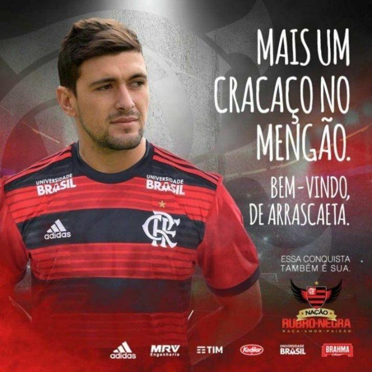 Giorgian de Arrascaeta - Cruzeiro > Flamengo | BONSERVİS BEDELİ: 15 milyon euro