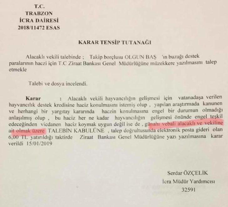 Trabzon'u karıştıran belge sahte çıktı (2)- Yeniden