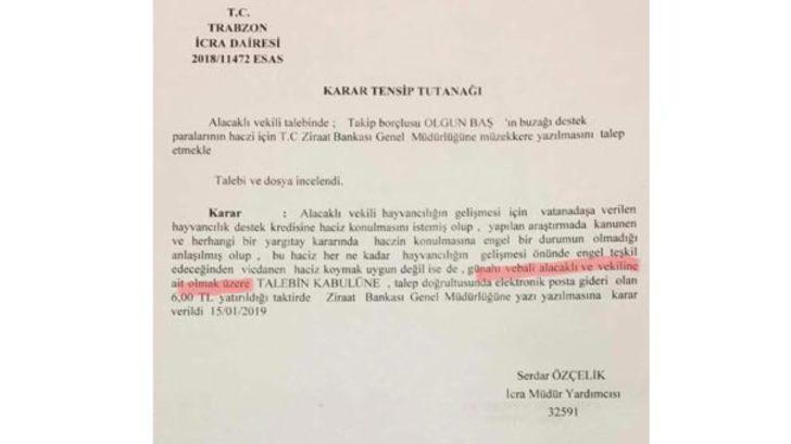 Trabzon'u karıştıran belge sahte çıktı