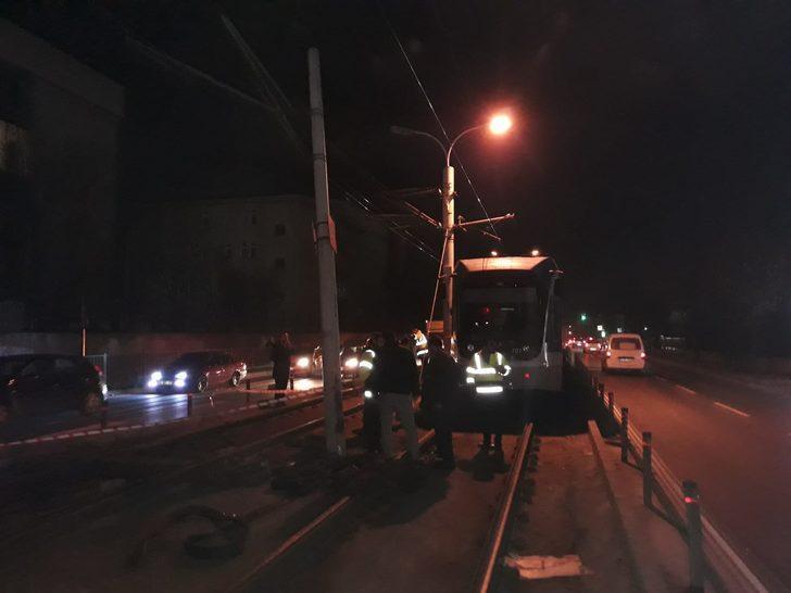 Güngören tramvay seferlerinde aksama (1)