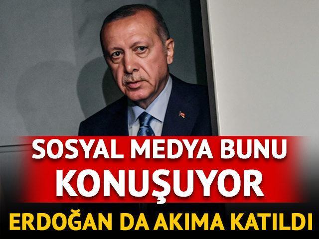 Cumhurbaşkanı Erdoğan da #10YearsChangelle akımına katıldı