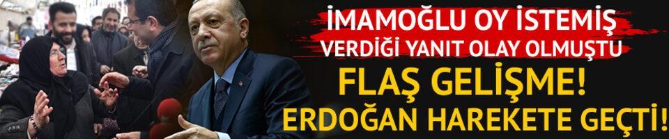 İmamoğlu'na yanıtı olay olmuştu! Erdoğan harekete geçti