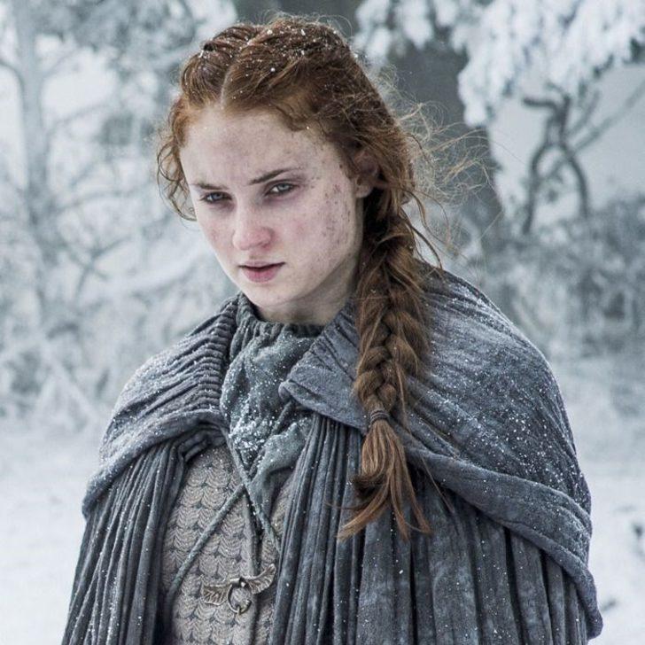Game of Thrones'un Sansa'sı Sophie Turner: Dizi boyunca saçlarımı yıkamadım