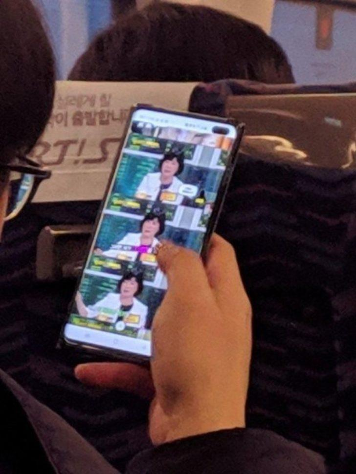 Galaxy S10+ canlı canlı sızdırıldı!