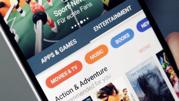 Play Store'un son sürümü indirmeye hazır