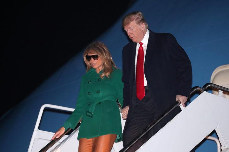 ABD maaşları ödeyemiyor ama First Lady tatile çıktı