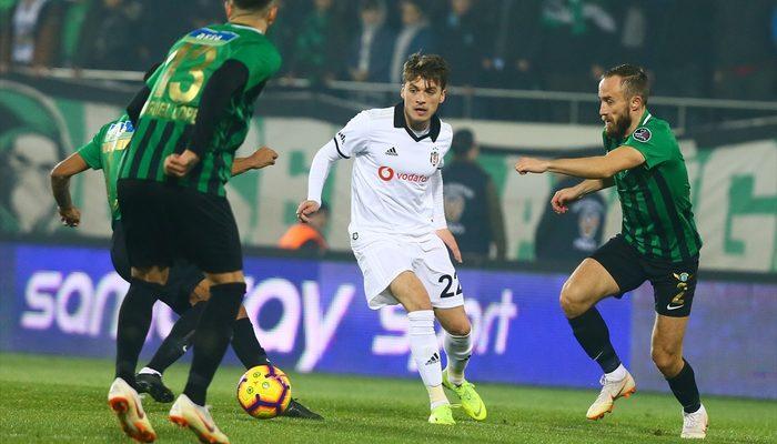 Akhisarspor-Beşiktaş maçında kural hatası!