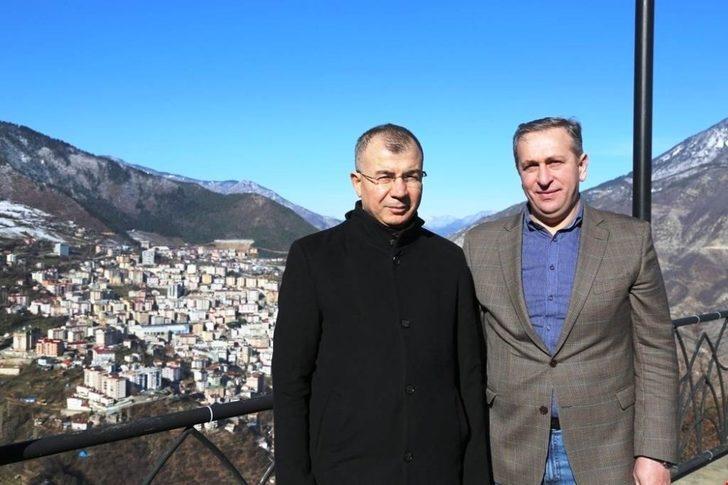 Gürcü heyetinin Artvin ziyareti
