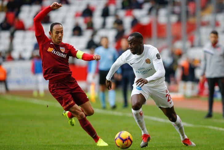 Antalyaspor 0 - 0 İstikbal Mobilya Kayserispor