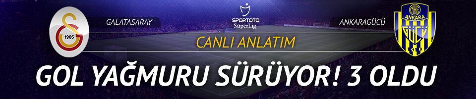 Galatasaray - Ankaragücü | CANLI YAYIN