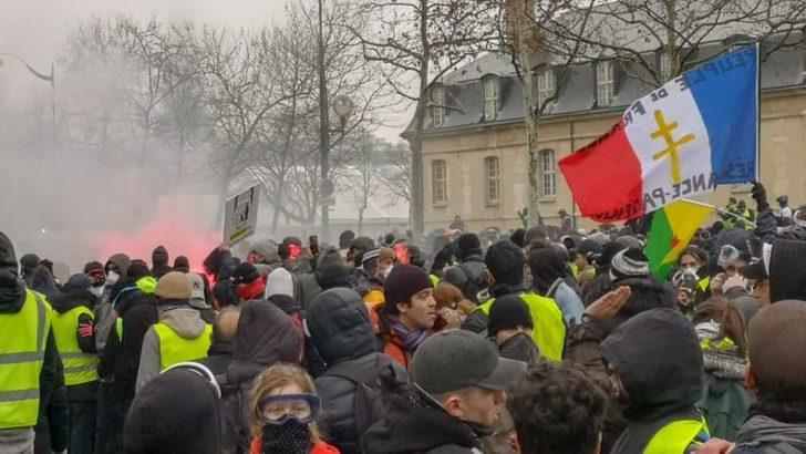 Sarı Yelekliler'in 10'uncu Eyleminde Toulouse Paris'i Geçti