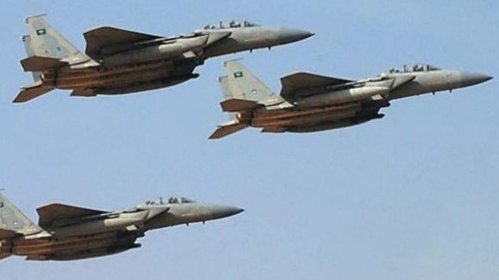 Yemen'de Husilere yönelik yoğun hava saldırısı