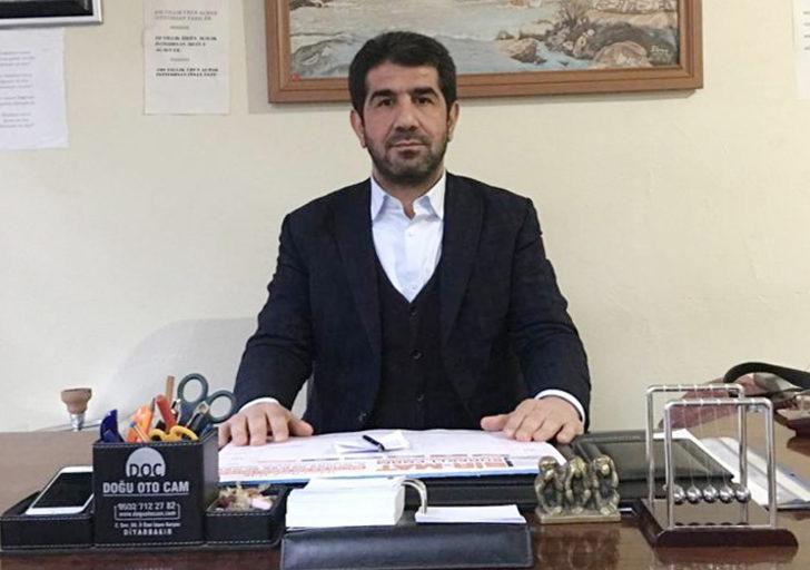 AK Parti Çermik İlçe Başkanı istifa etti