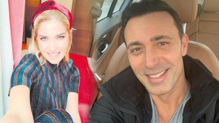 Mustafa Sandal'ın yeni sevgilisi aşka geldi