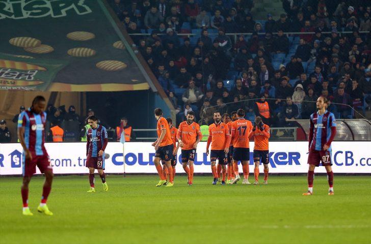 Başakşehir kaldığı yerden! Trabzon'u yıktılar