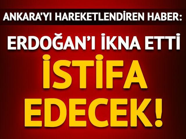 'Erdoğan'ı ikna etti, Binali Yıldırım istifa edecek!'