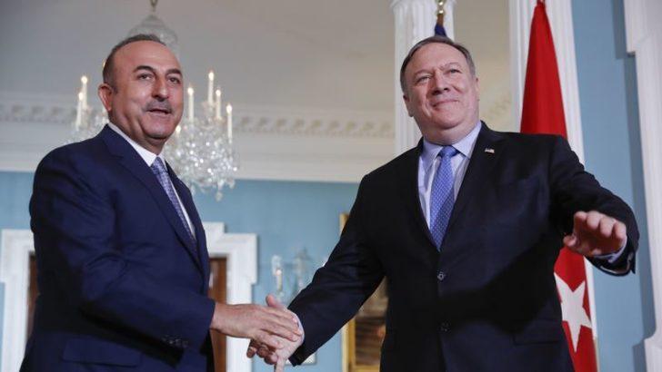 Çavuşoğlu ve Pompeo Telefonda Suriye'yi Görüştü