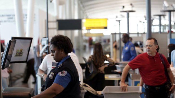 ABD'deki Havaalanlarında İşe Gelmeyen Personel Sayısı Artıyor