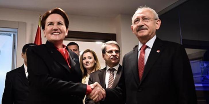 Kemal Kılıçdaroğlu ve Meral Akşener buluştu, ittifakta sorunlar aşıldı