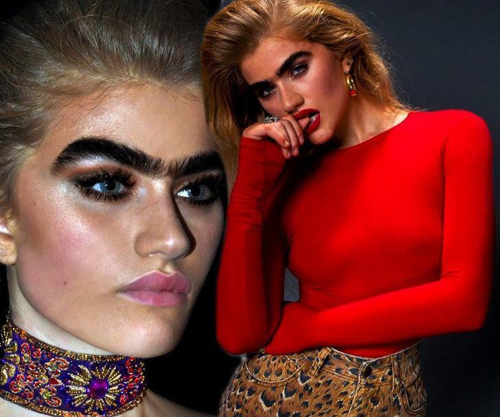 Araştırmaya göre kalın kaşları olan kadınlar daha çekici, testosteron seviyeleri yüksek!