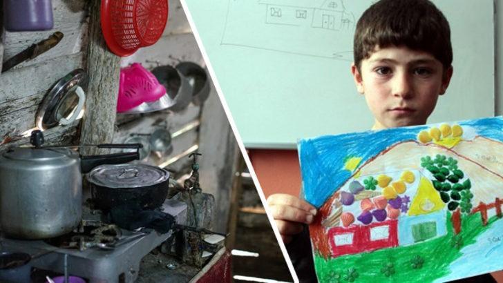 Okula beslenme çantasız gelen öğrencisinin evini ziyaret etti! Hayatlarını böyle değiştirdi