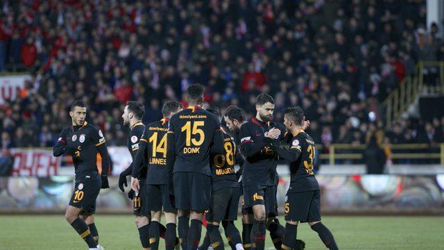 Galatasaray, Türkiye Kupası'nda çeyrek final kapısını araladı: 0-1