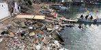 Limandaki kirlilik tepki çekiyor