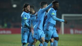 Trabzon hata yapmadı, çeyrek finale çıktı!