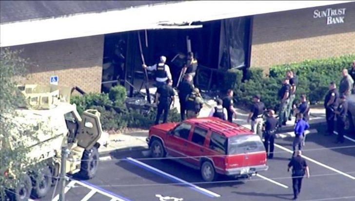 ABD'de bankaya silahlı saldırı: Çok sayıda kişi vuruldu