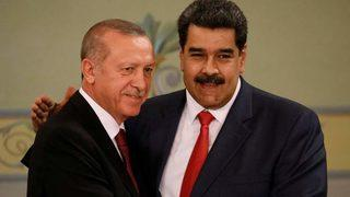 Erdoğan'dan Maduro'ya destek: Kardeşim...