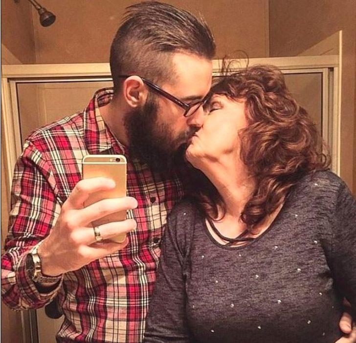 Oğlunun cenazesinde tanıştığı 19 yaşındaki gençle evlendi