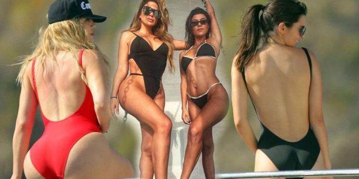 Khloe Kardashian ailenin en uzunu...