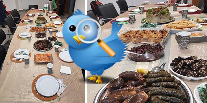 Akademisyenin paylaştığı 'doktora tezi yeterlilik sofrası' Twitter'ın gündemine oturdu