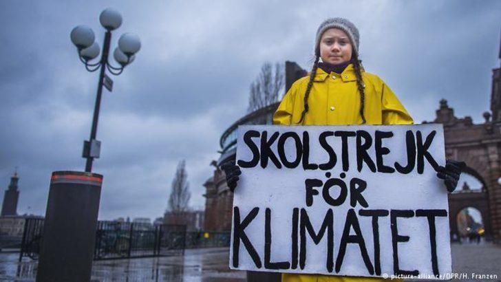 Genç iklim aktivisti Thunberg Nobel Barış Ödülü'ne aday gösterildi
