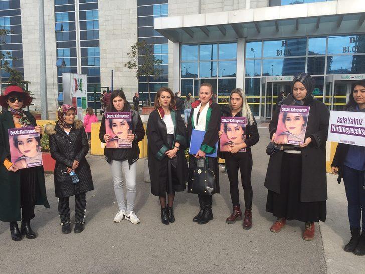 Kartal'da öldürülen 17 yaşındaki Aleyna Can davasına başlandı