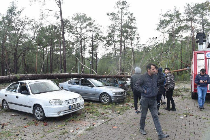 Antalya'yı fırtına vurdu; başına sac parçası çarpan Berivan öldü (6)
