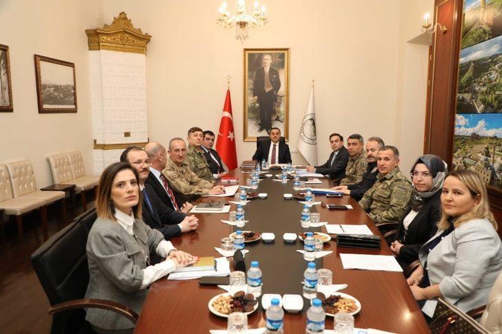 Kars'ta seçim güvenliği koordinasyon toplantısı yapıldı