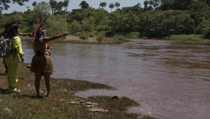Brezilya'daki baraj çökmesi kabileyi de vurdu!