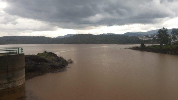 Mumcular Barajı 6 yıl sonra il kez doldu